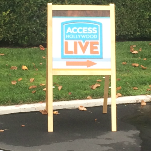 Access Hollywood sign