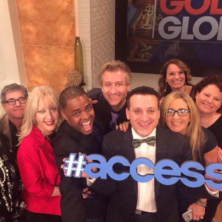 Access Hollywood crew
